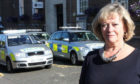 Ann Barnes, who is standing as an independent candidate in the police commissioner elections
