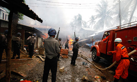 Burma communal violence