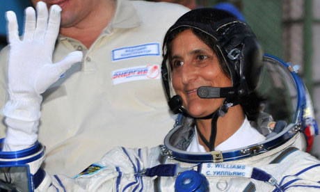 sunita williams in space station-#26