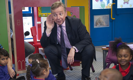 Michael Gove at the Woodpecker Primary Academy School in Edmonton, London, Britain - 07 Sep 2011