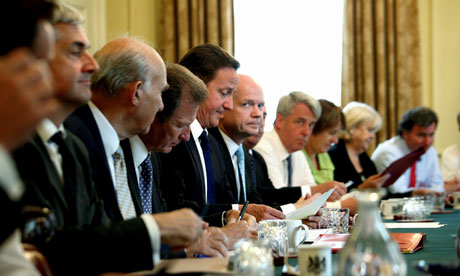 The faces around David Cameron's cabinet table are likely to be different after his reshuffle
