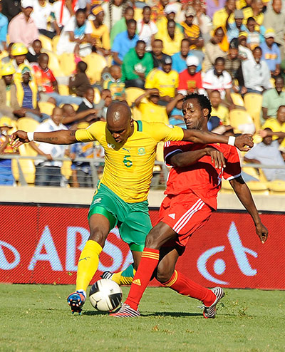 African Nations: South Africa's Morgan Gould vies with Ethiopia's Saladin Said