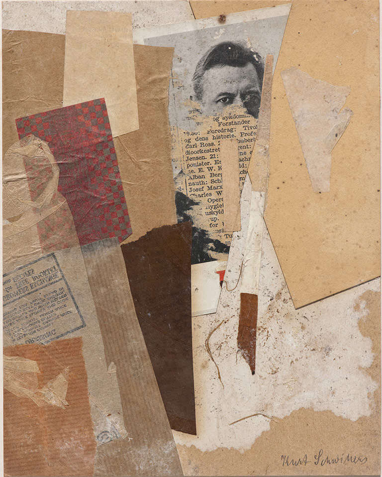 Kurt Schwitters Collages – In Pictures