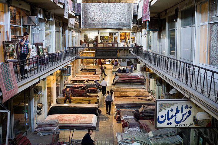 The carpet section of Teh 007 زیباترین مناظر دیدنی ایران از نگاه سایت خارجی گاردین + عکس