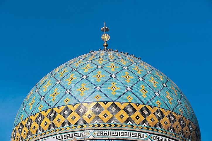 Dome of the mosque in Ham 013 زیباترین مناظر دیدنی ایران از نگاه سایت خارجی گاردین + عکس