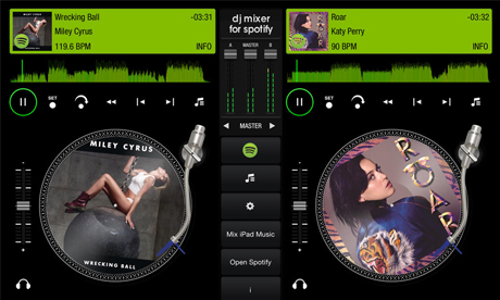 Steel Wheels For Spotify As Streaming Music Service Gets