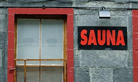 Edinburgh above the gay sauna
