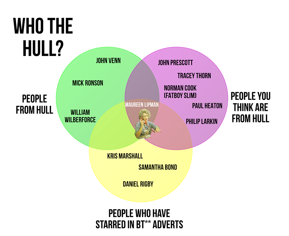 Hull The Ultimate Venn Diagram Uk News Theguardian