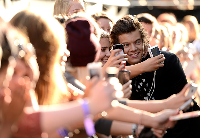 A to Z: Harry Styles with fans
