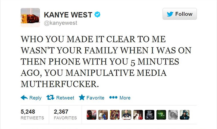 A to Z: Kanye West Jimmy Kimmel tweet