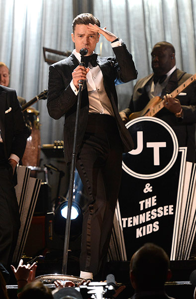 A to Z: Justin Timberlake at The 55th Annual GRAMMY Awards