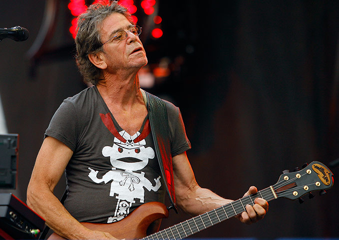 A to Z: Lou Reed performing in 2009