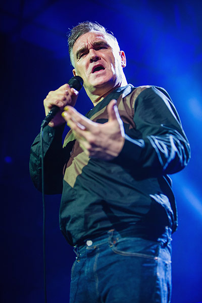 A to Z: Morrissey In Concert in Seattle