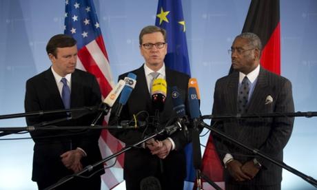 US and German surveillance meeting