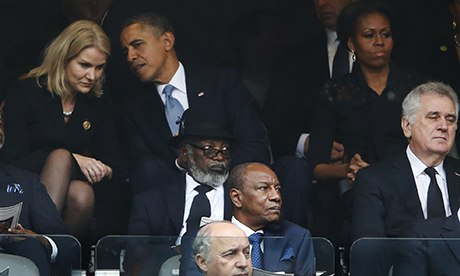 Obama and Helle Thorning-Schmidt