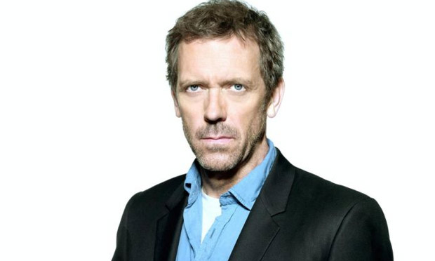 Hugh Laurie dices with...