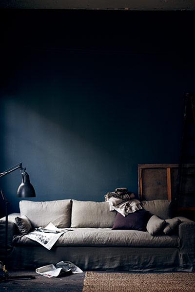 The New Interiors Colour Palette Aubergine And Indigo