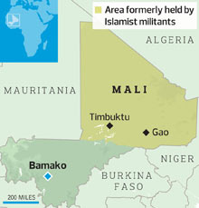Gao Africa Map | Map Of Africa