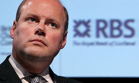 Stephen Hester, chief executive of RBS