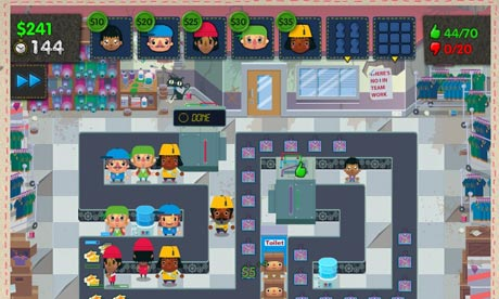 A serious game about sweatshops … you won't find it in ...