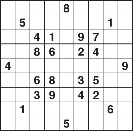 picture relating to Hard Sudoku Puzzles Printable named Printable Sudoku Difficult