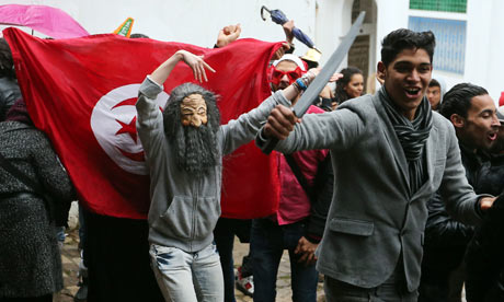 Tunisian students protest over Harlem shake