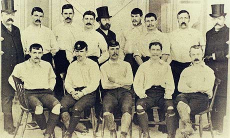 Preston North End, unbeaten in 22 games 1888