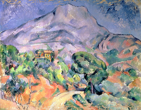 painting of Mont Sainte-Victoire