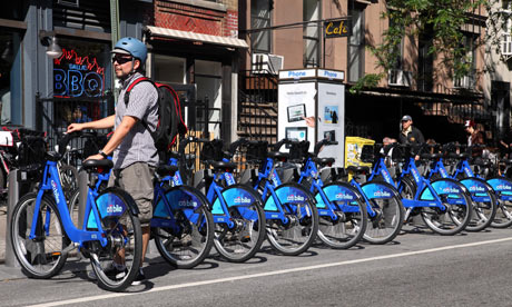 Start Up Bike Sharing Programs Make Inroads In Us Cities