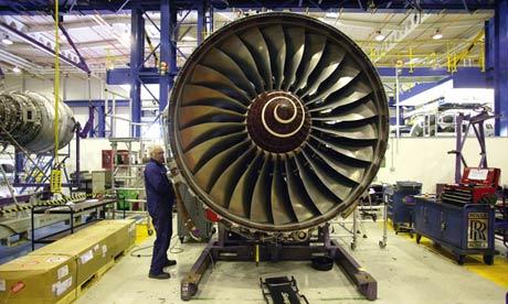 A Rolls Royce Engineer Wo on Rolls Royce Jet Engine Factory