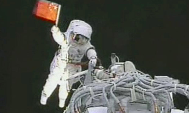 China lands three astronauts on Tiangong-1 space station ...