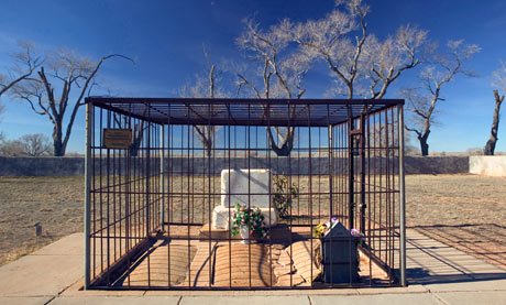 Billy the Kid's grave, Fort Sumner, NM