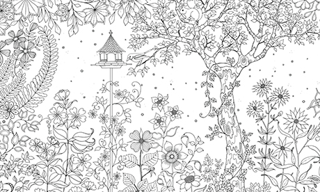 free printable secret garden coloring pages | Secret Garden: colouring in for all | Life and style | The ...