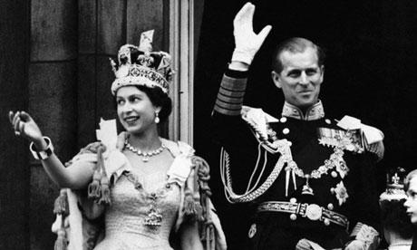 Queen Elizabeth at the 1953 Coronation