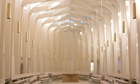 Bishop Edward King Chapel by Niall McLaughlin Architects, shortlisted for 2013 RIBA Stirling prize