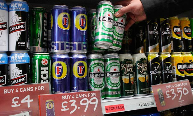 Minimum unit price for alcohol proposal shelved | Society ...