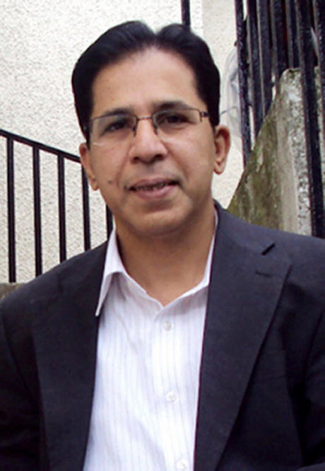 Imran Farooq was stabbed to death outside his flat in north London