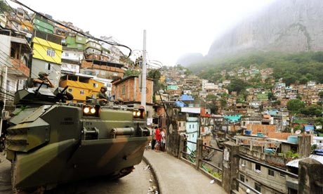 How are social conditions in brazil