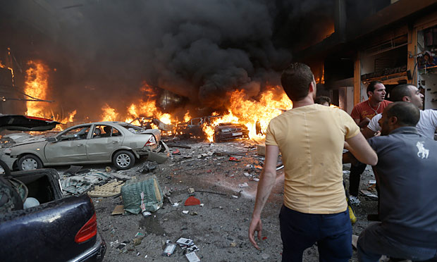 How Many Cars In The World >> Beirut car bomb rips through Hezbollah stronghold | World ...