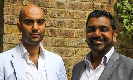 'Most restaurants have a veggie option. Where's the halal one?' Imran Kausar and Noman Khawaja.