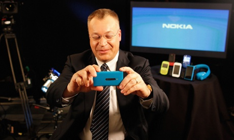 Stephen Elop, chief executive officer of Nokia Oyj.