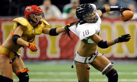 Women Bikini Football 91