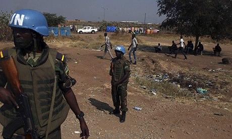 Rwandan UN peacekeepers in South Sudan