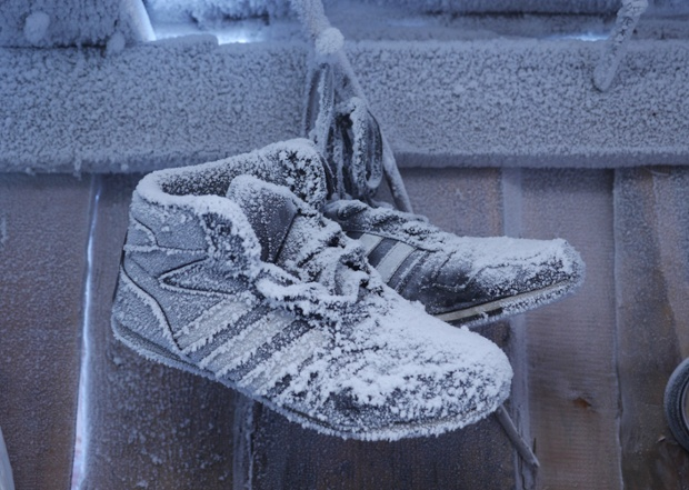 papuci inghetati