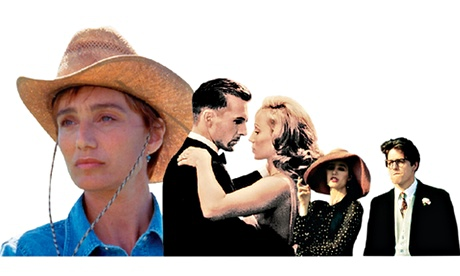 Kristin Scott Thomas in The Horse Whisperer, The English Patient and Four Weddings And A Funeral