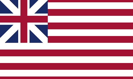 United States flag, 1776-77