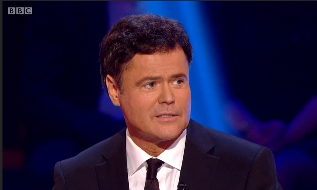 Strictly Come Dancing No Puppy Love For Donny Osmond