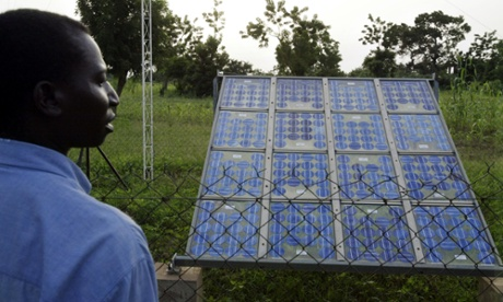 Solar panels at a Burkina Faso medical clinic have lit two decades of births and deaths for the 60,000 people in a cluster of villages outside the country's capital, Ouagadougou.