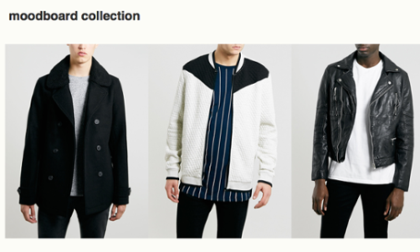 Topman Google Hangout personal shopping sevice