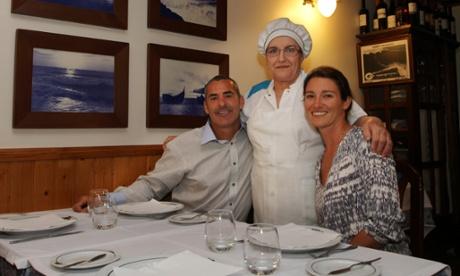 Restaurant Celeste, Nazaré.